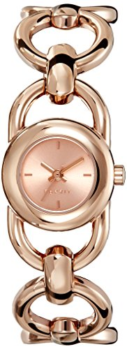 Esprit Lorro Women's Quartz Watch with Rose Gold Dial Analogue Display and Rose Gold