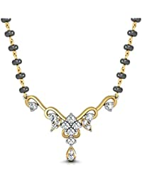 Avsar New Collection 14k (585) Yellow Gold Mangalsutra for Women