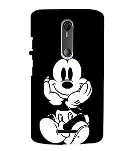 EPICCASE mickey mouse Mobile Back Case Cover For Moto X 3rd Gen (Designer Case)