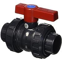 Cepex AQ PVC–Válvula de Bola, Color Negro