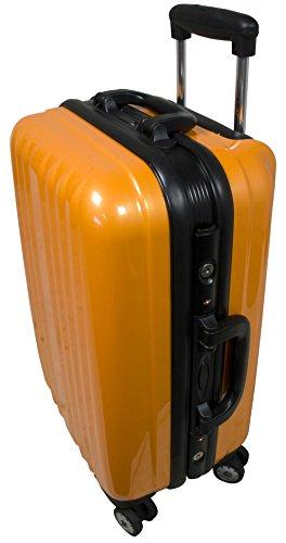Capri Taille L carbone/ABS rigide Valise à roulettes en polycarbonate Case FA. Valise bowatex