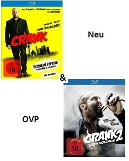 Crank - Extended Version [Blu-Ray] + Crank 2 - High Voltage [Blu-ray]