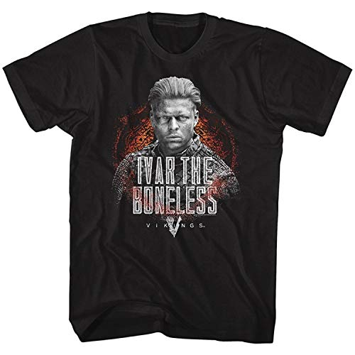 rama TV Show History Channel Ivar Boneless Men T-Shirt Fashion ()