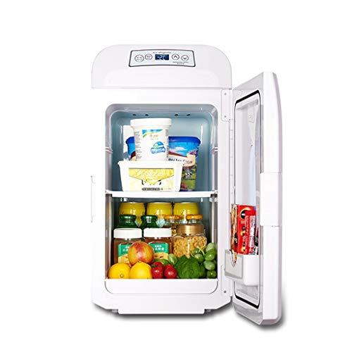 LXD Energiesparende Mini-Kühlschrank 35L Dual-Core Mute Cnc-Display Kühlbox (Home Office und Auto verwenden) - Angel Men Deodorant
