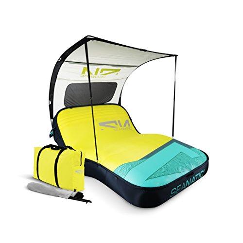 Seanatic Inflatable Cabana Lounge Luftmatratze Badeinsel Sonnenliege (sulphur spring)