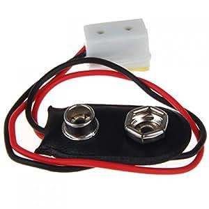 dollhouseminiatur 9v batterie anschluss mit wire und aufnahme la005 k che haushalt. Black Bedroom Furniture Sets. Home Design Ideas