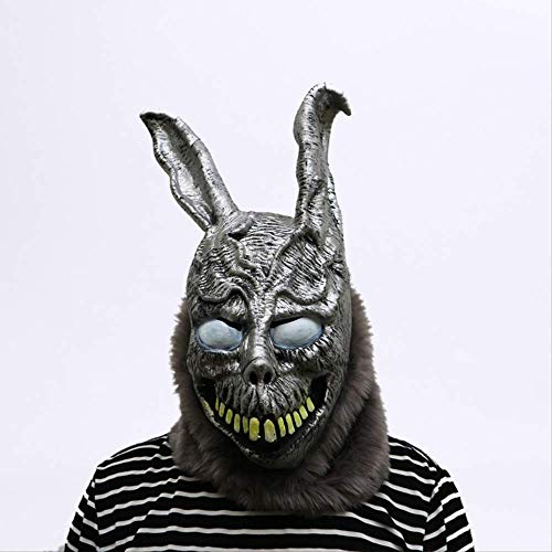 Donnie Darko Kostüm Aus Frank - Tier-Maske mit Hasen-Motiv, Donnie Darko Frank The Bunny-Kostüm, Cosplay, Halloween, Party-Maks