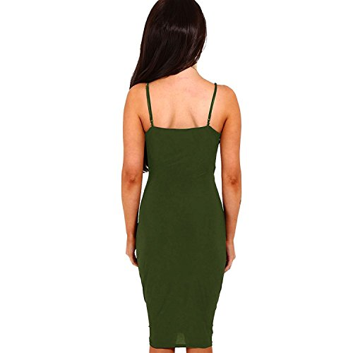 DRESHOW-Womens-Sexy-Deep-V-Neck-Sleeveless-Spaghetti-Strap-Bodycon-Wrap-Dress-Front-Slit-Bandage-Midi-Club-Dress