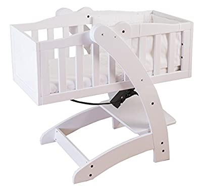 The Multy 4-in-1 Baby Crib/Highchair/Child Seat and Storage System