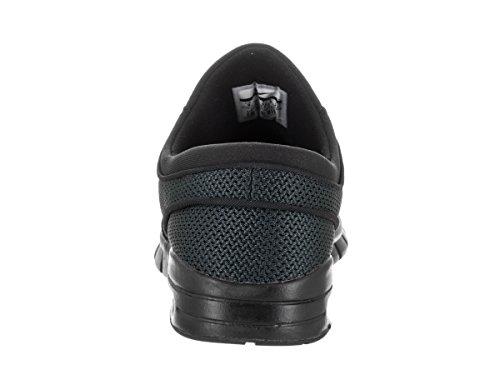 Nike Stefan Janoski Max, Chaussures de Skateboard Homme Noir (Nero)