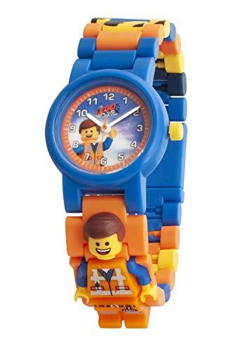 LEGO 8021445 - Reloj de Cuarzo para niño, Color Azul