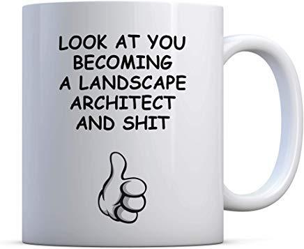 LECE Landscape architect Funny Gift, Birthday Landscape architect Gift, Landscape architect Graduation, Landscape architect School, Landscape arc
