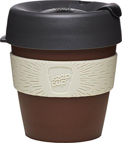 KeepCup 8oz petit plastique mug voyage, marron noir et gris by Keepcup