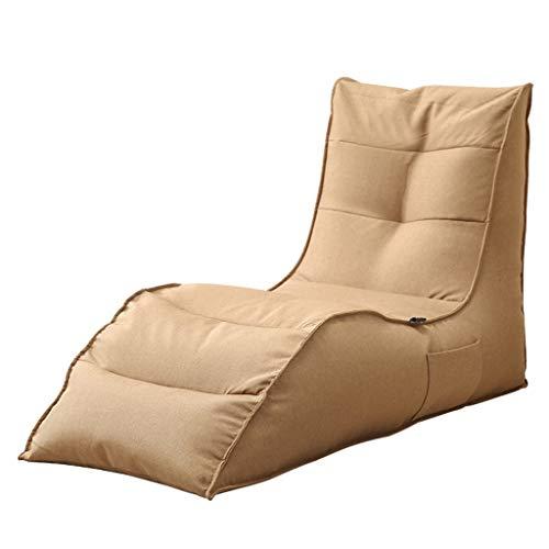 Canapés Pouf Poire Le Sofa Lavable Portatif De Bébé De Chaise De Câlin De Sacs De Haricot Badine des Meubles De Chambre À Coucher (Color : Beige, Size : 50.39 * 22.83 * 31.5in)