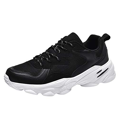 Aoogo Herren Freizeit Ultra Leicht Mesh Atmungsaktiv Gemütlich Mode Turnschuhe Sneakers Männer Frühling Sommer Outdoor Fliegen Gewebt Laufschuhe Wanderschuhe Anti Rutsch Sportschuhe