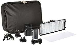 Polaroid 320 LED Dimmable, Vari-Temp Super Bright LED Light For Digital SLR Cameras & Camcorders