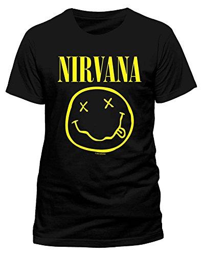 Live Nation T-shirt Imprimé musique et film Crew Short Homme, Noir (Black), FR: Medium (Taille fabricant: M)