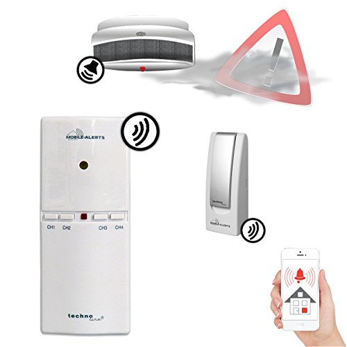 Technoline MA 10860 Signalmelder zur Rauch-/CO-/CO2-Melder Überwachung