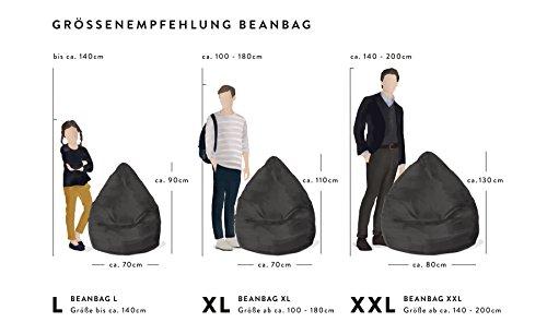 Sitzsack Easy XXL ca. 300 Liter blau - 2