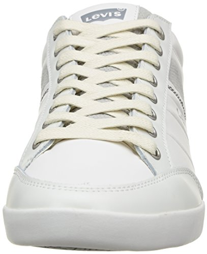 Levi's Turlock Refresh, Baskets mode homme Blanc