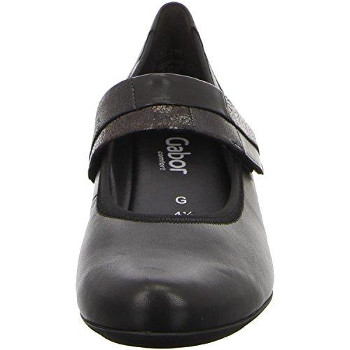 Gabor 32.149.57, Scarpe col tacco donna Nero (nero)