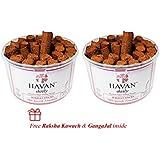 HAVAN Daily Combo Pack (Pack of 60 Sticks) - 100% Ayurvedic Havan Dhoop Sticks   Now perform instant Yagya everyday   Purely Handmade   Natural Havan Aroma - 250g