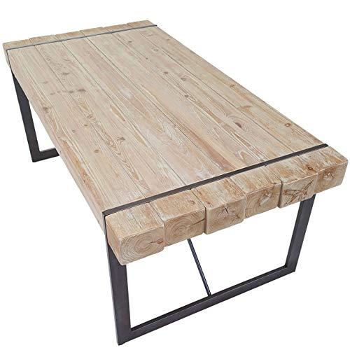 Mendler Esszimmertisch HWC-A15, Esstisch Tisch, Tanne Holz rustikal massiv ~ 75x160x90cm