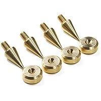 M6 latón puntas / spikes de desacople para altavoces (Conjunto de cuatro)