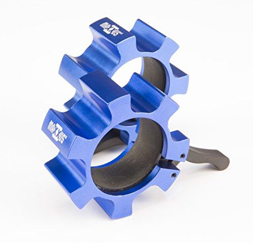 Maxxus Fast & Safe ALU-PRO 50mm, Olympia Schnellverschluss für Hantelstangen und Hantelscheibenaufnahmen