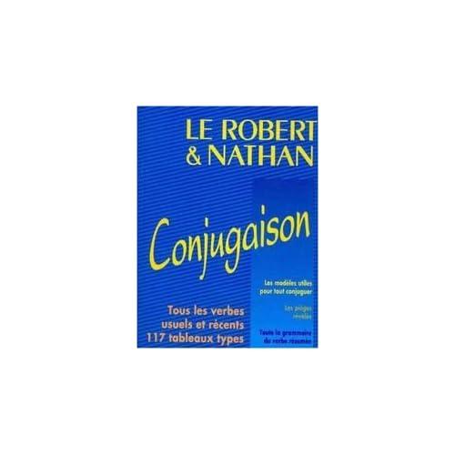 Le Robert et Nathan, conjugaison