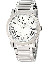 339e82fd1030 Hugo Boss - Plateado  Relojes - Amazon.es