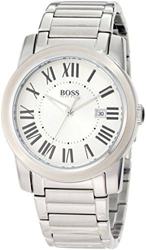 Hugo Boss Herren-Armbanduhr XL Analog Quarz Edelstahl 1512717
