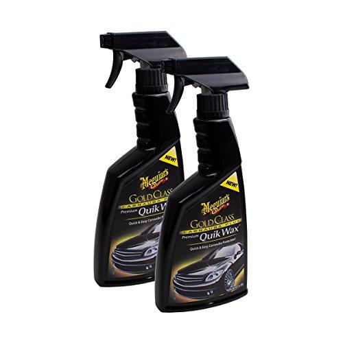 Meguiar's 2X MEGUIARS 650174 Gold Class Carnauba Plus Quik Wax Schnellwachs Spray 473ml