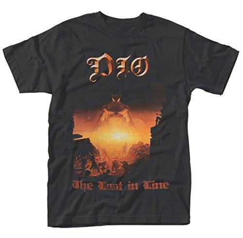 Preisvergleich Produktbild Dio Ronnie James Dio Last In Line Rock offiziell Männer T-Shirt Herren (XX-Large)