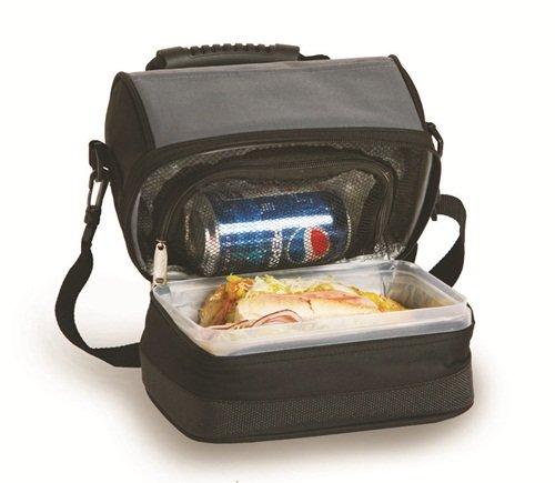 picnic-plus-psm-238bg-columbus-lunch-tote-negro-gris