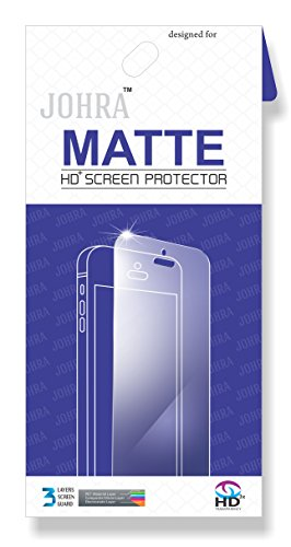 Moto G5 Screen Guard, Johra Matte HD Screen Scratch Protector...