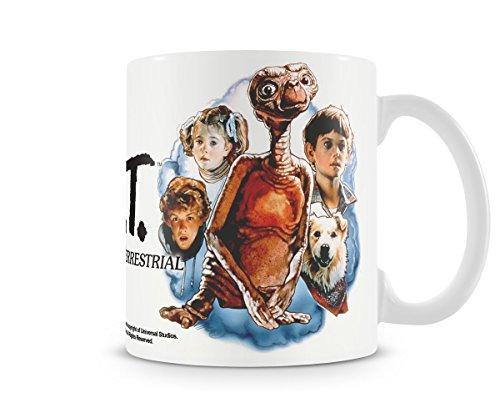 E.T. Der Außerirdische - Keramik Tasse - Retro Poster - ()