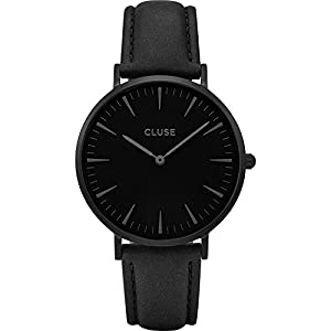 Cluse Damen Armbanduhr Analog Quarz Leder CL18501
