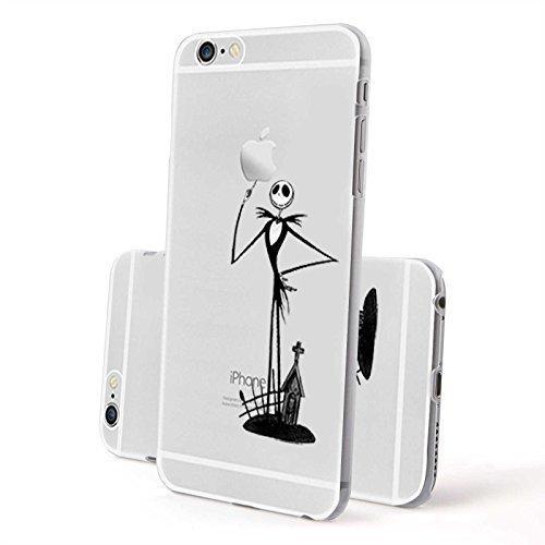 Finoo Hardcase Case Squelette - Femmes avec Miroir, Iphone 6/6S Plus Squelette SMILE