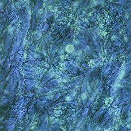 Mosaic Craft – 5 x 10 cm plate – Van Gogh – Verre Bleu Bleu-vert