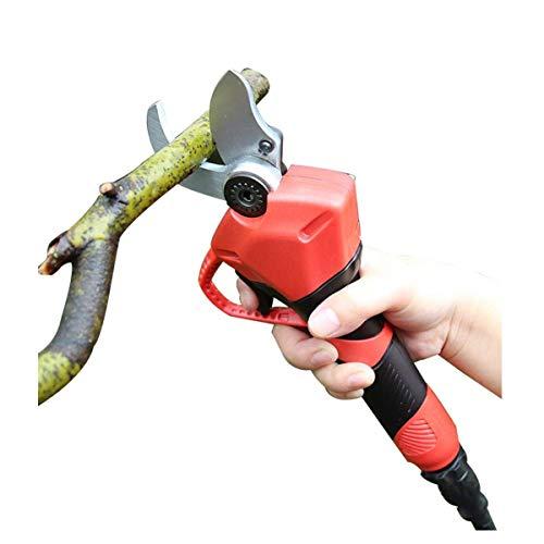 YQSHYP 30mm drahtlose elektrische Gartenschere, Profi-Gartengeräte Pruning Zweige Obstbaum Schere Electric Tool Schneiden kann Diametere Branchen 30Mm Hart Branchen Cut