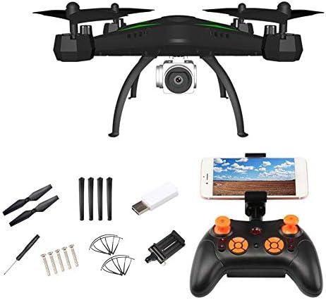 Lamptti vidéo 720p HD Drone avec WiFi caméra 2.4ghz quatrième 6-Axis gyro - rc Quadcopter avec l'altitude, la gravité des capteurs et Fonction rtf hélicoptère pour  s en Mode sans tête et | Mode Attrayant
