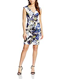 French Connection Kiki Palm Cotton Ss Vnk Dress - Vestido Mujer