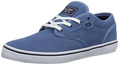 Globe Motley GBMOTLEY, Unisex - Erwachsene, Sportschuhe - Skateboarding, Blau (faded blue 12077), Gr. 40 EU (6.5 UK / 7.5 US) (Schuhe Herren Circa)