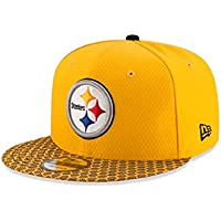 Pittsburgh Steelers New Era NFL 2017 diseño de campo 9 FIFTY gorra b93f5e20252