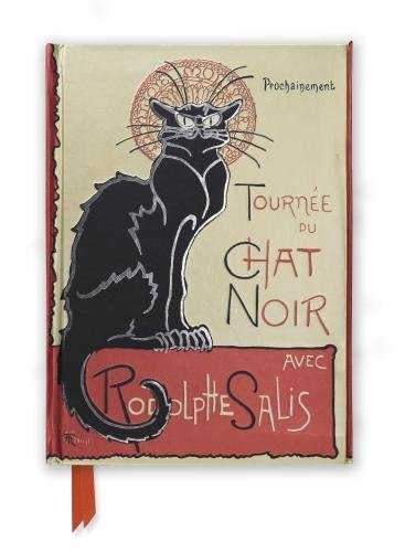 Steinlen: Tournee du Chat Noir (Foiled Journal) (Flame Tree Notebooks)