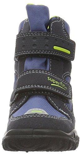 Superfit Husky1, Bottes mi-hauteur avec doublure chaude garçon Bleu - Bleu océan (81)