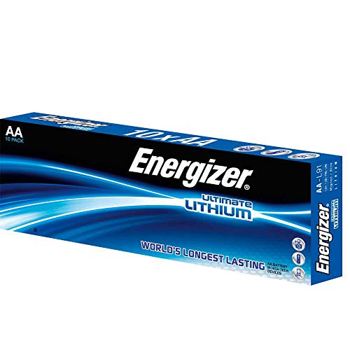 Energizer Battery AA/LR6 Ultimate Lithiu 10-pak, 636900 (10-pak) -
