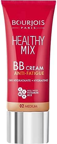 Bourjois Healthy Mix Anti-Fatigue BB Cream 02 Medium, 30 ml - 1.0 fl oz