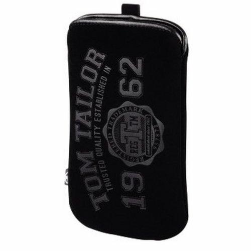 Tom Tailor 00122624 Smartphone-Sleeve Benign Pouch, Gr. XL, Schwarz